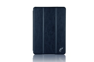 Чехол G-Case Slim Premium для Apple iPad mini 4 темно-синий